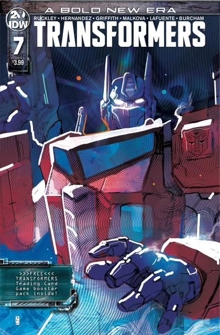 IDW Transformers #7 Comic Book