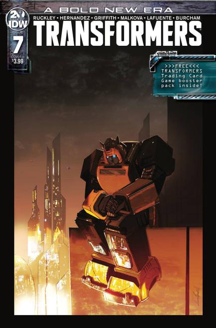 IDW Transformers #7 Comic Book [Livio Ramondelli Variant Cover]
