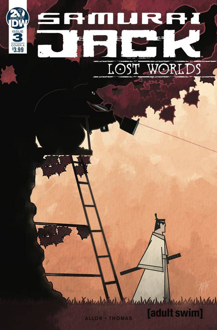 IDW Samurai Jack Lost Worlds #3 Comic Book [Adam Bryce Thomas Variant Cover]