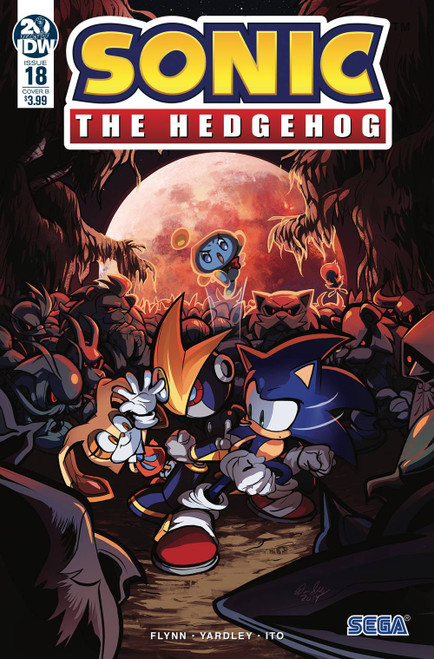 IDW Sonic The Hedgehog #18 Comic Book [Diana Skelly Variant Cover]