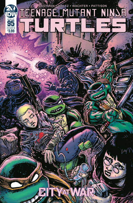 IDW Teenage Mutant Ninja Turtles Ongoing #95 Comic Book [Kevin Eastman Variant Cover]