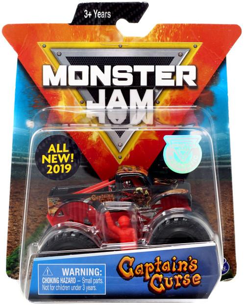Monster Jam Captain's Curse Diecast Car