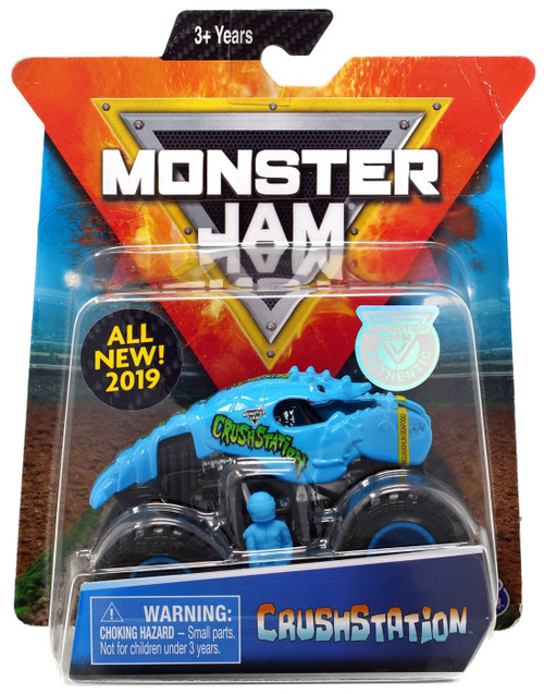 Monster Jam Crushstation Diecast Car