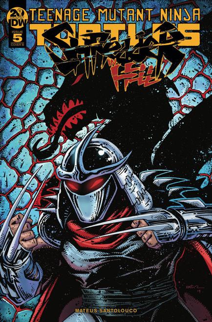 IDW Teenage Mutant Ninja Turtles Shredder in Hell #5 Comic Book [Kevin Eastman Variant Cover]