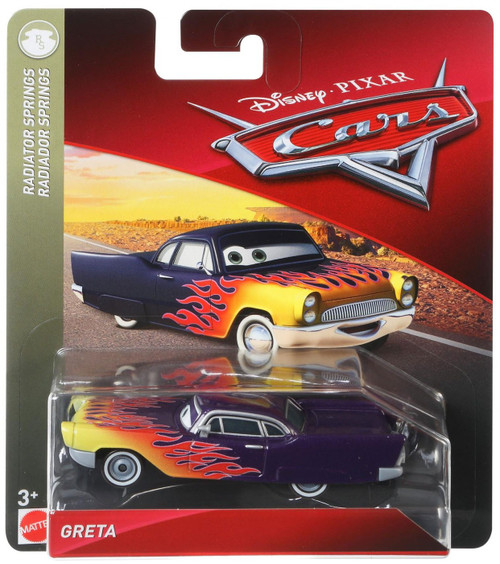 Disney / Pixar Cars Cars 3 Radiator Springs Greta Diecast Car