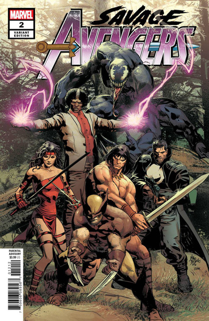 Marvel Comics Savage Avengers #2 Comic Book [Mike Deodato Variant Cover]