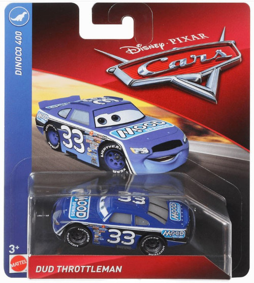 Disney / Pixar Cars Cars 3 Dinoco 400 Dud Throttleman Diecast Car
