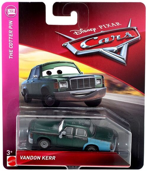 Disney / Pixar Cars Cars 3 The Cotter Pin Vandon kerr Diecast Car