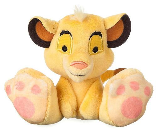 Disney The Lion King Tiny Big Feet Simba Exclusive 3.75-Inch Micro Plush