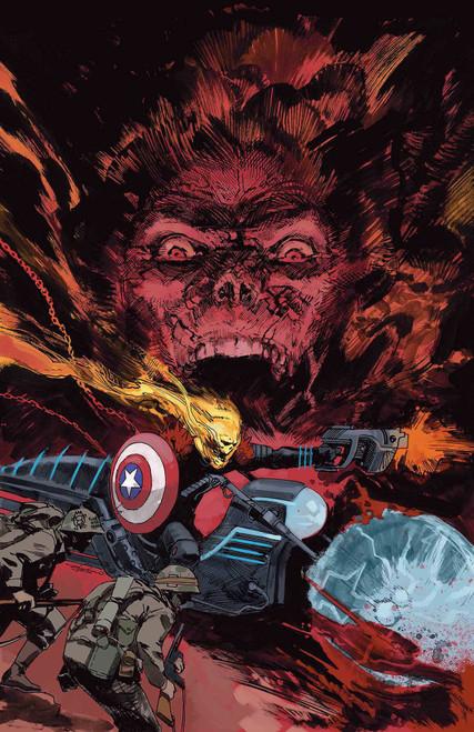 Marvel Comics Cosmic Ghost Rider Destroys Marvel History #4 Comic Book