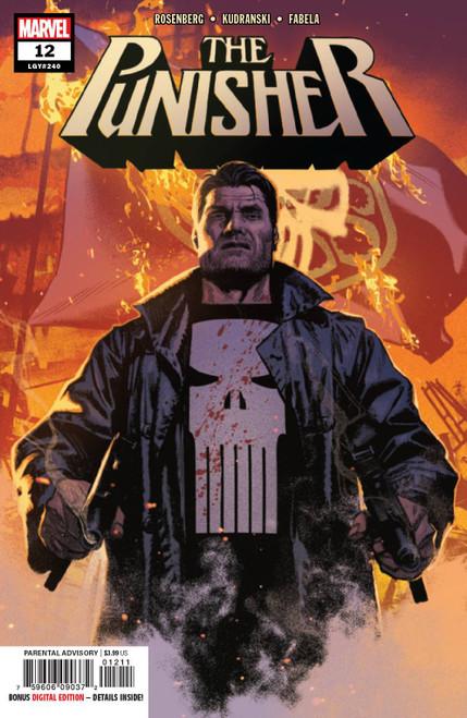 Marvel Comics The Punisher #12 Comic Book