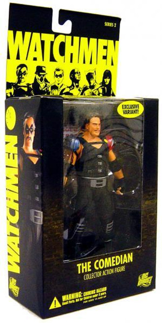 DC Watchmen Series 2 The Comedian Exclusive Action Figure [Unmasked]
