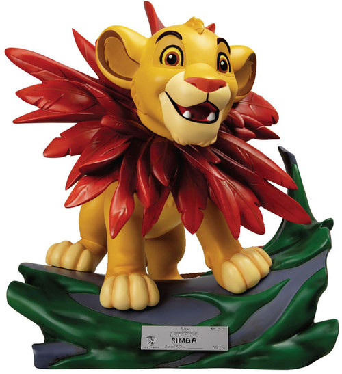 "Disney The Lion King Little Simba 12-Inch Master Craft Statue MEA-012 [""I Just Can't Wait To Be King""]"