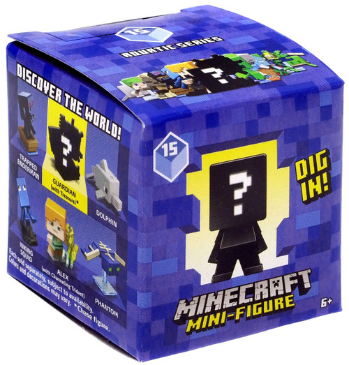 Minecraft Aquatic Series 15 Mystery Pack