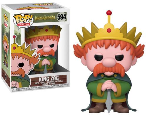Funko Disenchantment POP! Animation King Zog Vinyl Figure #594