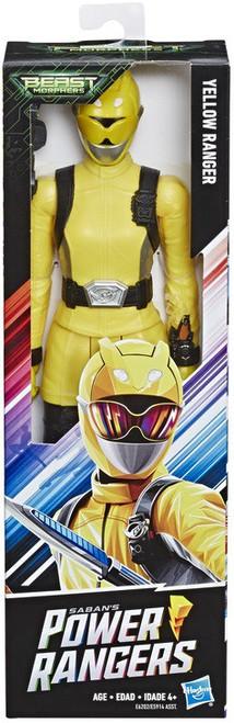 Power Rangers Beast Morphers Yellow Ranger Basic Action Figure (Pre-Order ships February)