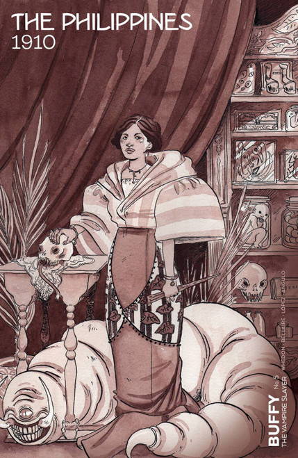 Boom Studios Buffy The Vampire Slayer #5 Comic Book [Morgan Beem Variant Cover]