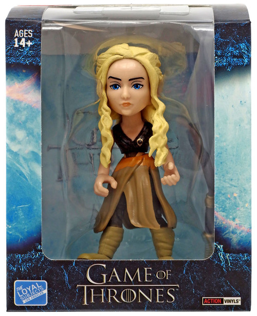 Game of Thrones Action Vinyls Daenerys Targaryen Exclusive Vinyl Figure #2/12 [Dothraki with Slaver's Whip]