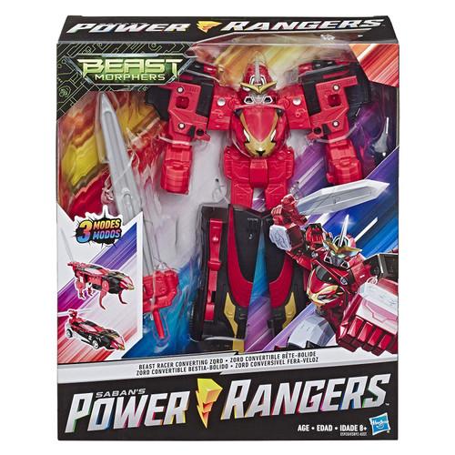 Power Rangers Beast Morphers Beast Racer Converting Zord Action Figure