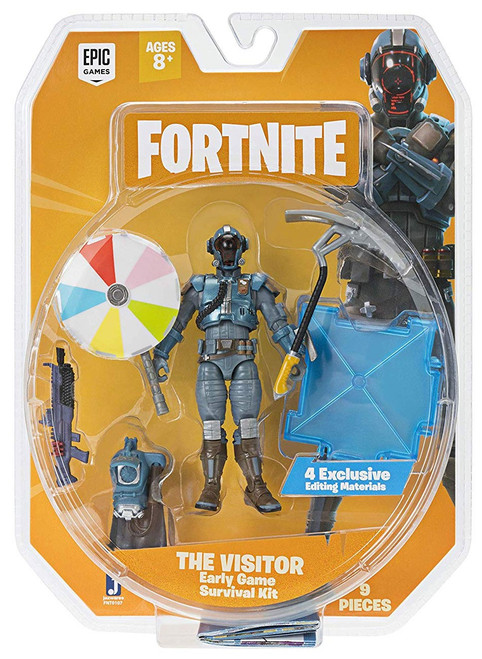 Fortnite Early Game Survival Kit The Visitor Action Figure