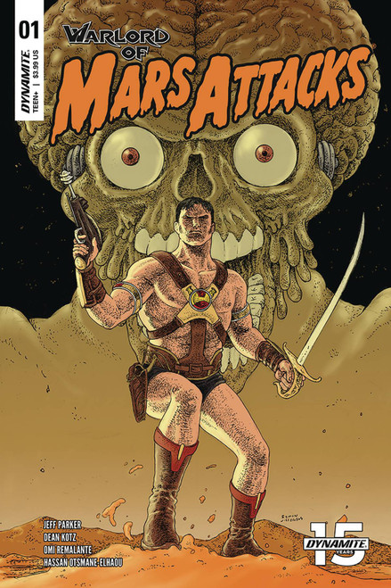 Dynamite Entertainment Warlord Of Mars Attacks #1 Comic Book [Ramon Villalobos Variant Cover]
