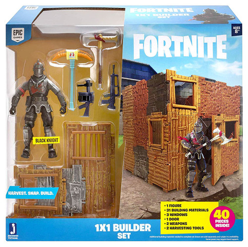 Fortnite 1X1 Builder Action Figure Playset [with Black Knight]