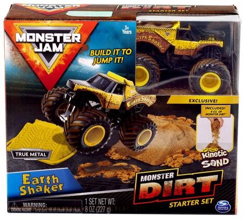 Monster Jam Monster Dirt Earth Shaker Starter Set [Box Style May Vary, Exact Contents!]
