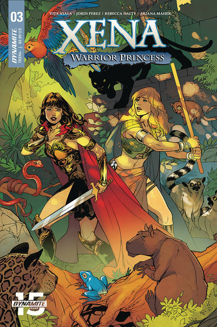 Dynamite Entertainment Xena Warrior Princess #3 Comic Book [Emanuela Lupacchino Variant Cover]