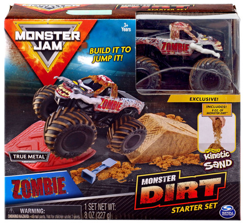 Monster Jam Monster Dirt Zombie Starter Set [Box Style May Vary, Exact Contents!]