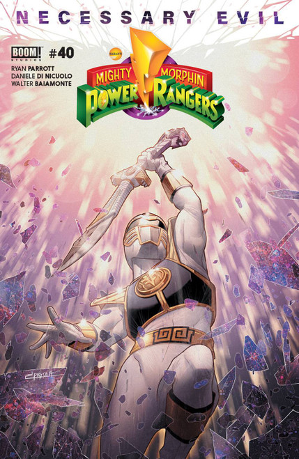 Boom Studios Mighty Morphin Power Rangers #40 Necessary Evil Comic Book