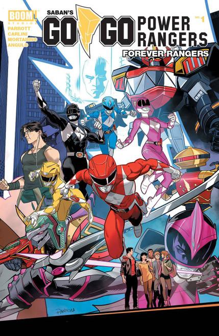 Boom Studios Go Go Power Rangers Forever Rangers #1 Comic Book