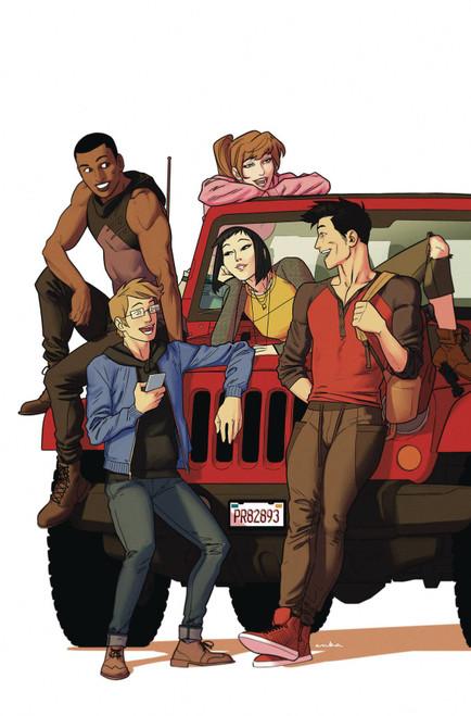 Boom Studios Go Go Power Rangers Forever Rangers #1 Comic Book [Kris Anka Variant Cover]