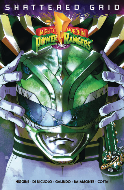 Boom Studios Mighty Morphin Power Rangers Shattered Grid TP Trade Paperback Comic Book
