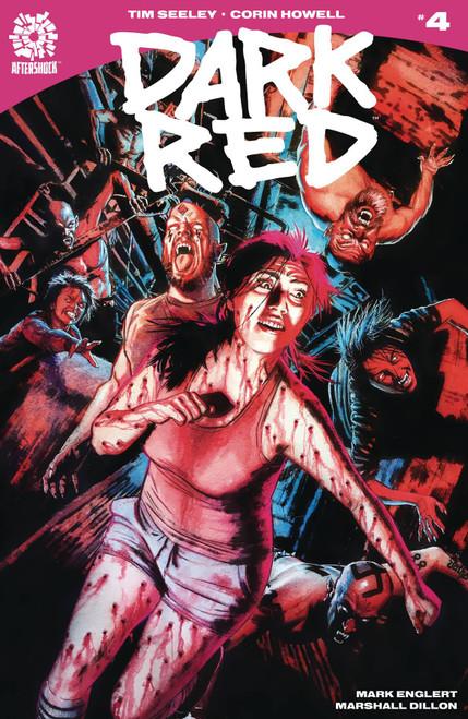 Aftershock Comics Dark Red #4 Comic Book