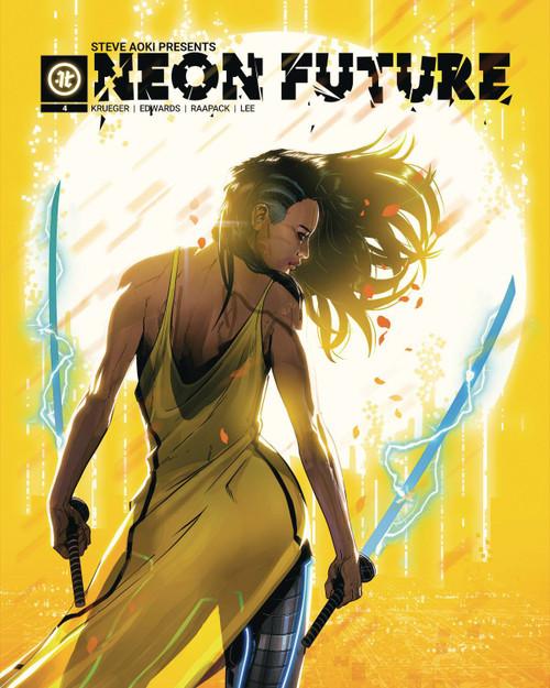 Impact Theory Neon Future #4 Comic Book