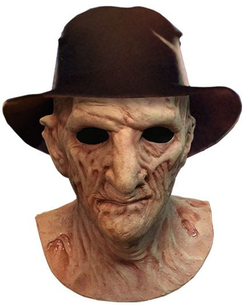 A Nightmare on Elm Street 2: Freddy's Revenge Freddy Krueger Deluxe Mask Prop Replica [Includes Fedora Hat]
