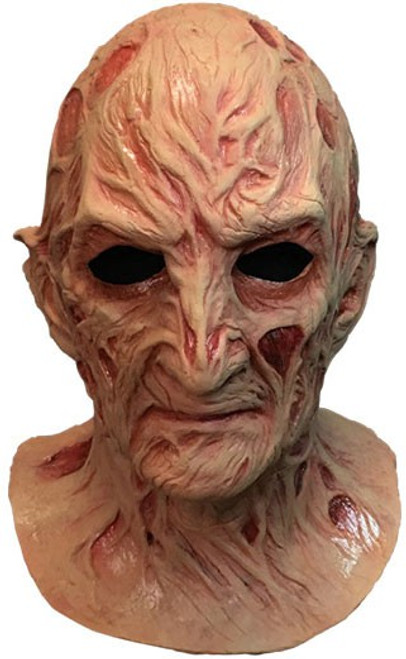 A Nightmare on Elm Street 4: The Dream Master Freddy Krueger Deluxe Mask Prop Replica [No Fedora Hat]