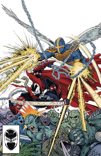 Image Comics Spawn #299 Comic Book [Todd McFarlane Virgin Variant Cover]