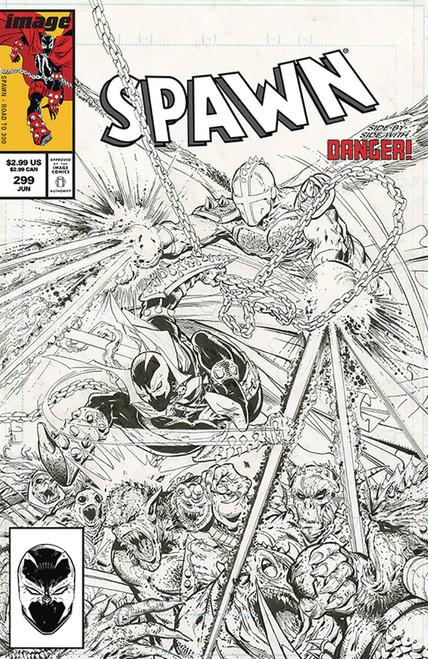 Image Comics Spawn #299 Comic Book [Todd McFarlane B&W Variant Cover]