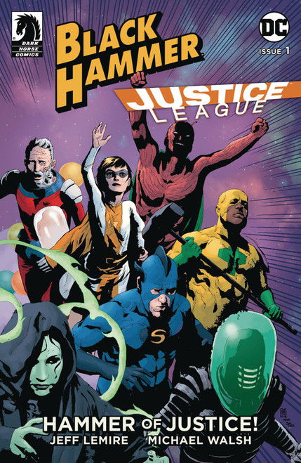 Dark Horse / DC Comics Black Hammer Justice League #1 of 5 Hammer of Justice Comic Book [Andrea Sorrentino Variant Cover]