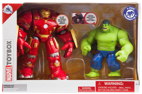 Disney Marvel Toybox Hulkbuster & Hulk Exclusive Action Figure 2-Pack Battle Set [Damaged Package]
