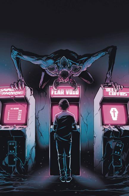 Dark Horse Stranger Things Six #3 of 4 Comic Book [Caspar Wijngaard Variant Cover]