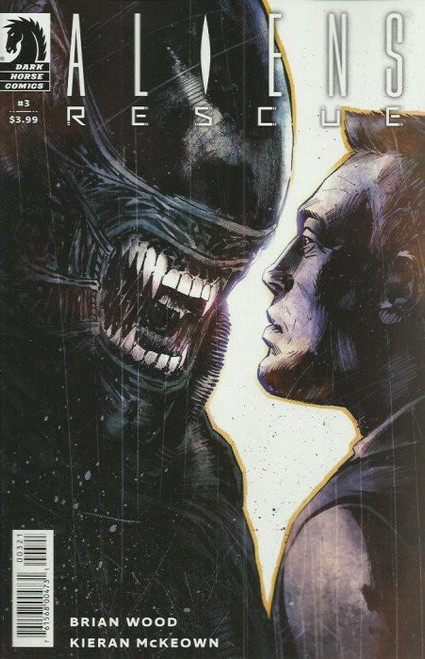 Dark Horse Aliens Rescue #3 of 4 Comic Book [Mack Chater Variant Cover]