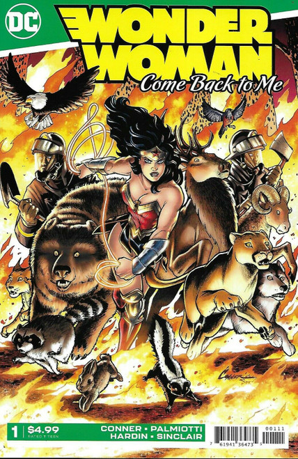 DC Wonder Woman Come Back To Me #1 of 6 Comic Book