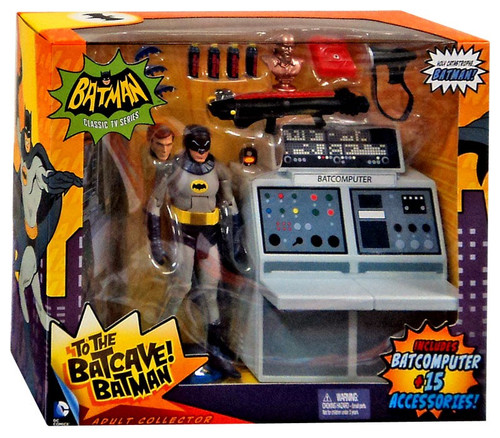 1966 TV Series To The Batcave! Batman Playset [Damaged Package]