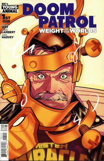 DC Doom Patrol Weight Of The Worlds #1 Comic Book [Mitch Gerads Variant Cover]