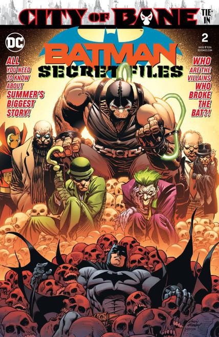 DC Batman Secret Files #2 Comic Book