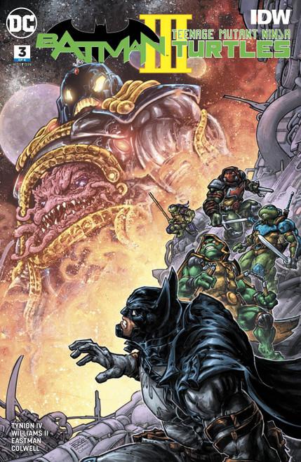 DC Batman / Teenage Mutant Ninja Turtles III #3 of 6 Comic Book