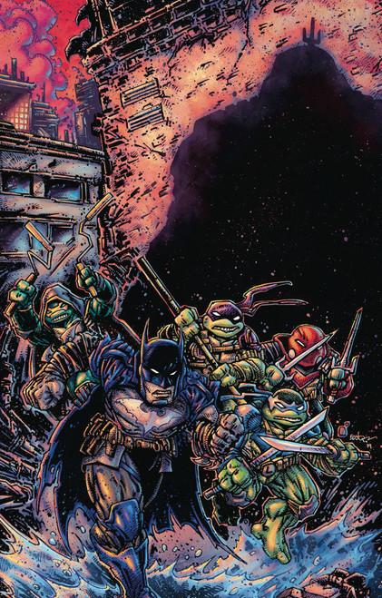 DC Batman / Teenage Mutant Ninja Turtles III #3 of 6 Comic Book [Kevin Eastman Variant Cover]