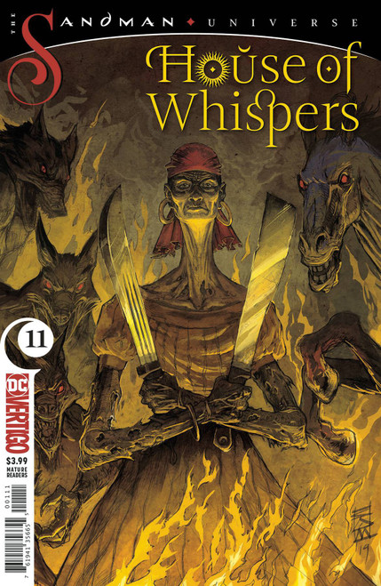 DC House of Whispers #11 The Sandman Universe Comic Book